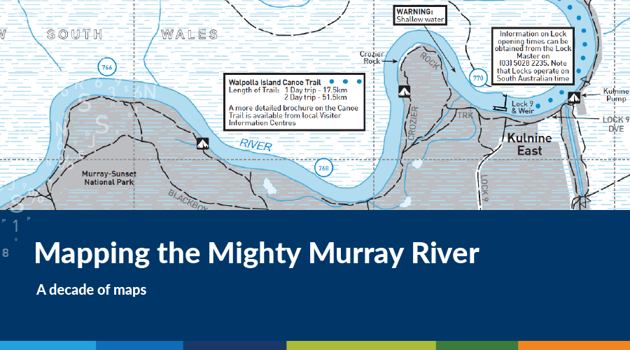 Australia Map Murray River.Mapping The Mighty Murray River Spatial Vision
