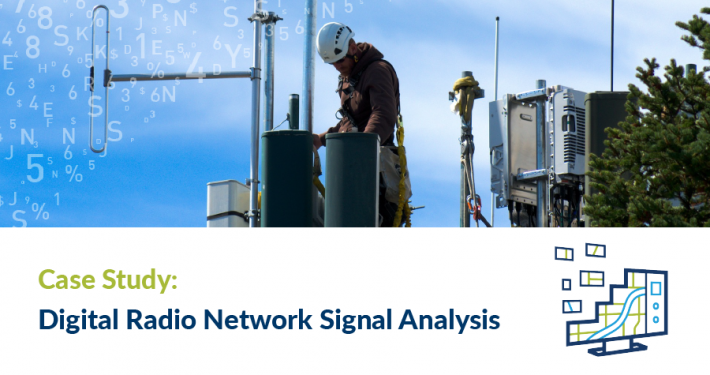 Case Study: Digital Radio Network Signal Strength Analysis