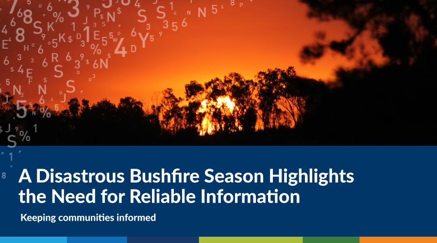 australian bushfire crisis
